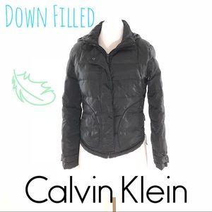 Calvin Klein Down Filled Puffer Coat Winter Black